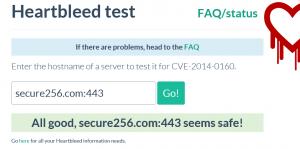 portal test result
