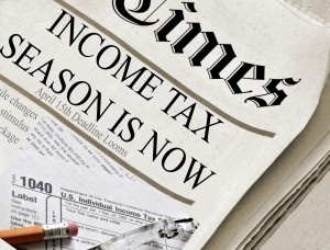 tax season is here