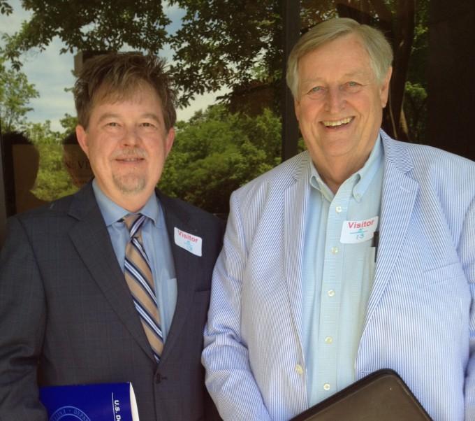Greg Cook and Reggie Wright Representatives of ALSEA